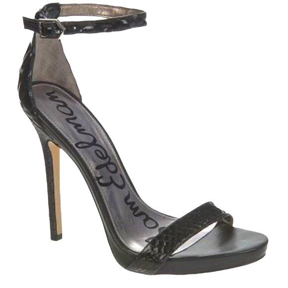 Sam Edelman Ankle Strap Stiletto Sandal